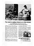Click here to enlarge image and see more about item auc056315: MercCruiser Outboards Ad auc056315 May 1963
