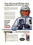 Click here to enlarge image and see more about item auc056320: Schick Injector Razor Ad May 1963