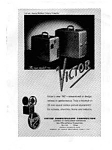 Victor Sound Projector Ad May 1963