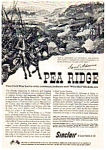 Click here to enlarge image and see more about item auc056: Sinclair Oil Pea Ridge Battle  Ad