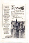 Click here to enlarge image and see more about item auc062305: Russwin Hardware Ad auc062305 June 1923