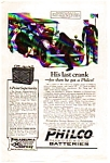 Click here to enlarge image and see more about item auc062317: Philco Diamond Grid Auto Batteries Ad 1923