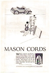 Click here to enlarge image and see more about item auc062320: Mason Cord Tire Ad 1923