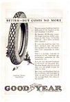 Click here to enlarge image and see more about item auc062321: Goodyear Cord Tire Ad 1923