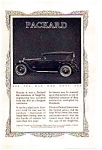 1923 Packard Single Six Automobile Ad auc062322