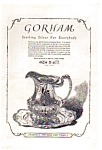 Click here to enlarge image and see more about item auc062332: Gorham Sterling Silver Ad 1923