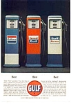 Click here to enlarge image and see more about item auc066336:  Gasoline Pump Ad
