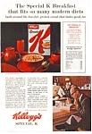 Click here to enlarge image and see more about item auc066341: Kellogg's Special K Ad 1963