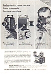 Click here to enlarge image and see more about item auc066342: Kodak Electric Movie Camera Ad auc066342