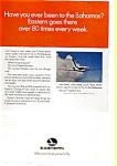 Click here to enlarge image and see more about item auc074917: Eastern Airlines to the Bahamas AD auc074917