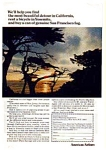 Click here to enlarge image and see more about item auc074920: American Airlines California Service Ad auc074920