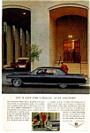 Click here to enlarge image and see more about item auc076401: 1964 Cadillac Ad auc076401