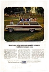 Click here to enlarge image and see more about item auc076403: 1964 Ford Country Squire Ad auc076403