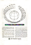 Click here to enlarge image and see more about item auc076407: Bell Telephone Satellite Ad auc076407