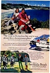 Click here to enlarge image and see more about item auc076410: Bermuda Tourism Ad 1970s