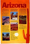 Arizona Tourism Ad 1970s