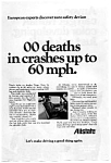 Click here to enlarge image and see more about item auc076414: Allstate Insurance Seat Belt Ad
