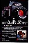 Mamiya M645 Camera Ad