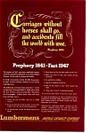 Click here to enlarge image and see more about item auc093515: Lumbermens Auto Prophecy of 1641 Ad