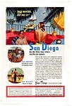 San Diego California Club Ad