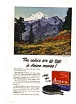 Ansco Movie Film Ad Sep 1948