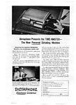 Click here to enlarge image and see more about item auc094807: Dictaphone Time Master Ad auc094807 Sep 1948