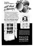 Click here to enlarge image and see more about item auc094812: Philco Freezer Ad Sep 1948