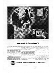 Click here to enlarge image and see more about item auc094814: RCA TV Ad Sep 1948