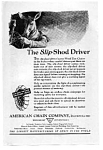 Click here to enlarge image and see more about item auc102101: American Chain Slip Shod Driver Ad