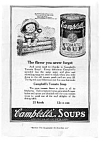 Click here to enlarge image and see more about item auc102102: Campbells Tomato Soup Ad 1921