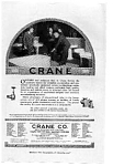 Click here to enlarge image and see more about item auc102104: Crane Company Plumbing Ad auc102104
