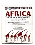 Click here to enlarge image and see more about item auc102123: Africa Its Poltical Development  Map