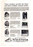 Click here to enlarge image and see more about item auc112404: Victrola Talking Machine Ad 1924