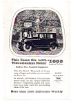 Click here to enlarge image and see more about item auc112407: Essex Six Touring Car Ad 1924