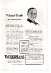 Click here to enlarge image and see more about item auc112408: Pepsodent Whiter Teeth Ad 1924