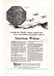 Click here to enlarge image and see more about item auc112412: American Walnut Mfgs Ad 1924