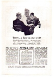 Click here to enlarge image and see more about item auc112413: Aetna Life Insurance Ad 1924