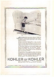 Click here to enlarge image and see more about item auc112419: Kohler Fixtures  Ad auc112419 1924
