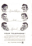 Click here to enlarge image and see more about item auc116003: Bell Telephone System Friendships Ad