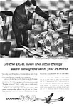 Click here to enlarge image and see more about item auc116006: Douglas DC-8 Jetliner Ad