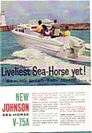 Click here to enlarge image and see more about item auc116009: Johnson Sea-Horse V-75A Ad