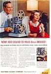 Kodak 8mm Sound Projector Ad Nov 1960