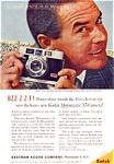 Click here to enlarge image and see more about item auc116011: Kodak Motormatic 35 Camera Ad auc116011 Nov 1960