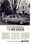 Click here to enlarge image and see more about item auc116031: 1963 Studebaker Cruiser Ad