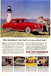 Click here to enlarge image and see more about item auc116032: 1950 Studebaker Commander Ad auc116032