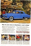 Click here to enlarge image and see more about item auc116033: 1950 Studebaker Champion Ad auc116033