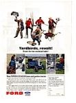 Click here to enlarge image and see more about item auc1210: Ford Lawn and Garden Tractors Ad
