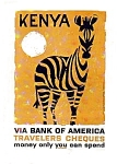 Click here to enlarge image and see more about item auc125901: Bank of America Kenya Ad,