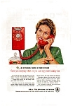 Bell Telephone Extension Phone Ad Dec 1959