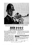 BOAC Comet 4 and 707s to Europe Ad